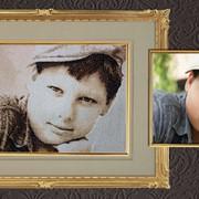 Вышивка по фотографии, вышивка портретов фото