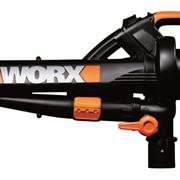 Воздуходув-пылесос электрический WORX WG500E фото
