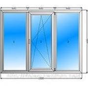 Окна пвх в Спб 1700*1400 фото