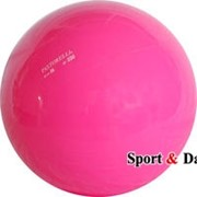 Мяч розовый,16см, вес 320 гр. фото