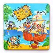 Рамка-вкладка Пираты с картой фото