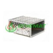 Система конструктивной защиты воздуховодов ОГНЕМАТ ТеплоВент EI60 0,5 мм фото