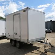 Изотермический прицеп фургон с боковой дверью фото