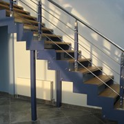 Лестницы на тетивах. Винтовые лестницы (вентовые лестницы), лестницы на больцах. Деревянные лестницы на больцах.