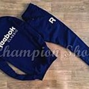 Мужской спортивный костюм Reebok, синий фото