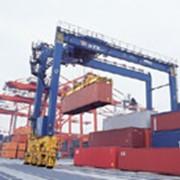 Ремонт портальных кранов и портовой перегрузочной техники фото