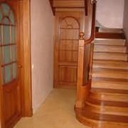 Лестницы из дуба, бука фото