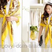 Платок Hermes Yellow, код 3613754 фото