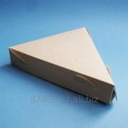 Коробка для куска пиццы фото