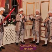 Casanova Music - живая музыка. атмосфера придворных балов фото