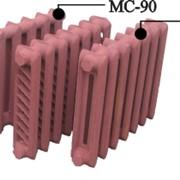 Чугунные радиаторы отопления МС-140 в сборе из 7 секций фото