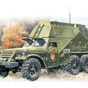 Модель ICM 1/72 БТР- 152 С, Подвижный командный пункт фотография