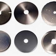 Ножи дисковые для резки металла