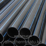 Труба ПЭ для воды SDR17 HDPE 100 PN10 40 Шеврон фото
