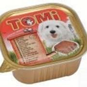 Консерва Tomi для собак с говядиной 300гр. фото