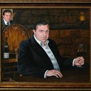 Живопись на заказ, портреты маслом на холсте! фото