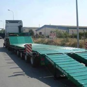 Аренда трала Низкорамная платформа (10 тонн) фото