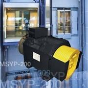 Лебёдка MSYP-200 для безредукторных лифтов фото