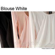 Блузка-Белый