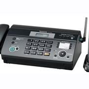 KX-FC965RU-T Panasonic факсимильный аппарат на термобумаге, Чёрный