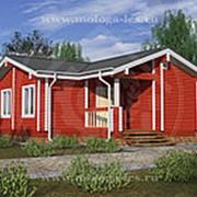 Дом из бруса №Д-1/0 — «Феллини» фото