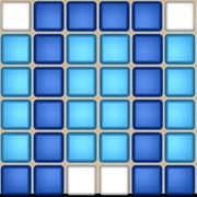 Мозаика стеклянная Фриз для бассейна 6x24 Змея фото