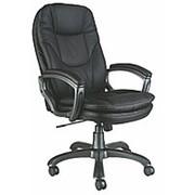Кресло для руководителя Бюрократ CH-868AXSN, кожзам, черный фото