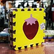 Коврик- пазл маты с изображением фруктов фото