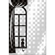 Обработка пескоструйная на 2 стекло артикул 105-04 фото