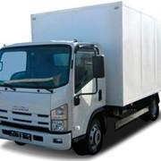 Isuzu NPR 75 LK фургон промтоварный 5.2 м