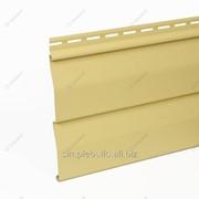 Сайдинг виниловый «Текос», золотой песок фото