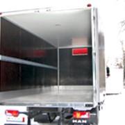 Изготовление фургонов грузовых автомобилей под заказ фото