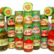 Овощи консервированные, консервы овощные фото