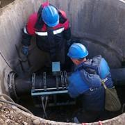 Укладка трубопроводов канализационных напорных фото