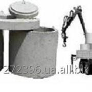 Доставка железобетонных изделий краном-манипулятором фото