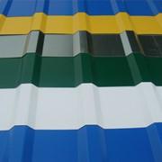 Профильный и плоский лист С-44 х 1000 с полимерным покрытием фото
