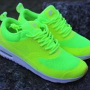 Женские кроссовки Nike Air Thea салатовые и много других есть у нас кроссовок фото