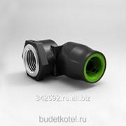 """Угольник с накидной гайкой 90° Ø20-1/2"""" ELSEN Push 3.2 фото"""
