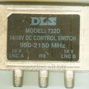 Переключатель 13/17 Вольт 2X1, 2 конвертера на 1 ресивер DLS-722D фото
