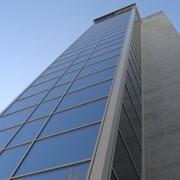 """Остекление лифтовых шахт. Херсон, пр.Ушакова, здание """"Райффайзен Банк Аваль"""" фото"""