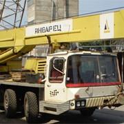 Аренда автокрана «Январец» КС 6474, г/п 40 тн., длина стрелы 34,5 м фото