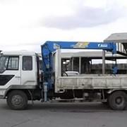 Услуги манипулятора 5-10 тонн. фото