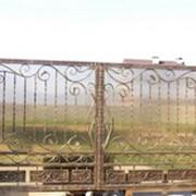 Ворота металлические, Ворота с элементами художественной ковки