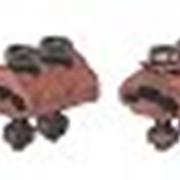 Медные болтовые зажимные муфты с 2 винтами фото
