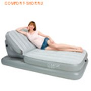 Кровати надувные Airbed with Adjustable Backrest 67386 фото