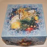 Коробка для торта Размер 21х21х10см фото