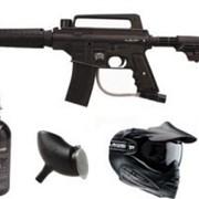 Комплект Tippmann Bravo Tactical/маска Tippman/баллон 3 000 psi фото