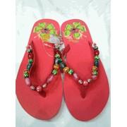 Сланцы женские, вьетнамки, обувь летняя фото