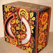 Гофрокартон, коробка для торта фото