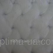 Мутон косичка переплет белый и черный фото